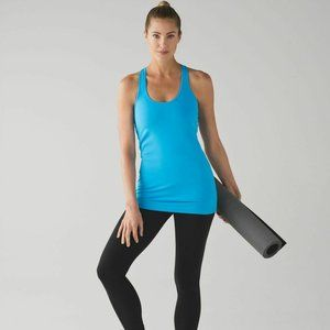 Lululemon Cool Racerback Kayak Blue 8
